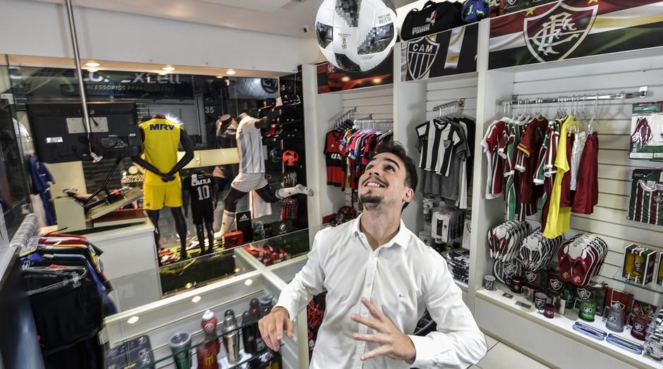 Loja de artigo esportivo (Foto: Pedro Vilela | Agência i7)