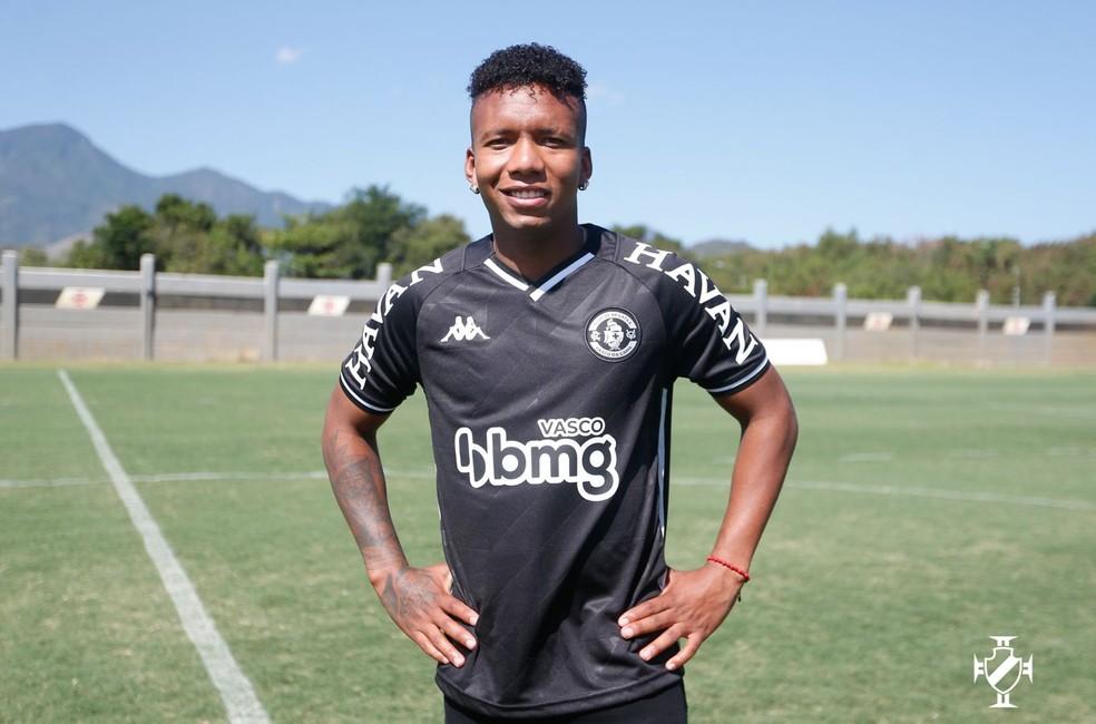 Anunciado no fim de agosto, Jhon Sánchez ainda não estreou — Foto: Rafael Ribeiro/Vasco