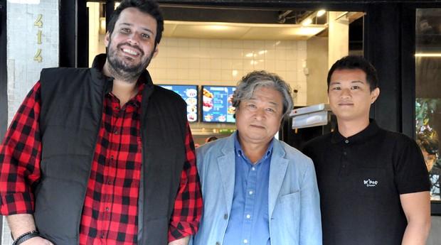 Renato Dianese, Senhor Sun e Rafael Shu (Foto: Bruno de Lima)