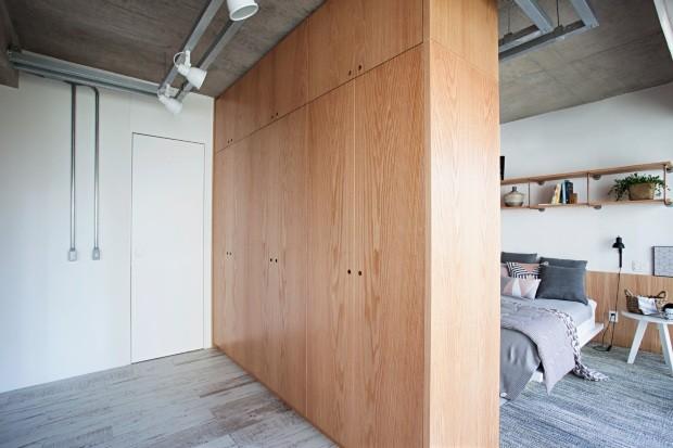 Closet escandinavo (Foto: Gui Morelli / Divulgação)