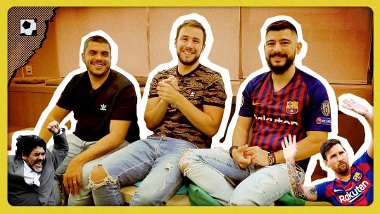 Messi treina pela primeira vez com o grupo do Barcelona desde o início do mês