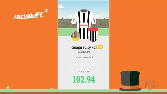 Aula de mitagem: Cássio Silva lidera rodada #3 na Liga do GE Sergipe e dá dicas para cartoleiros