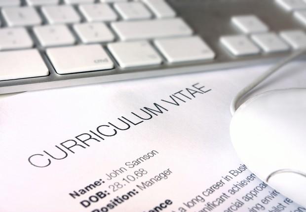 Currículo (Foto: Shutterstock)