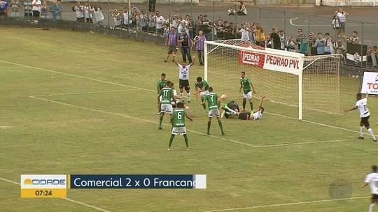 Comercial derrota a Francana na Segundona do Campeonato Paulista