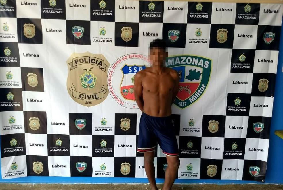 Suspeito de estupro é tio da vítima, uma adolescente de 15 anos (Foto: Divulgação/Polícia Militar)