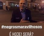 Postagem do narrador na web fez referência ao bordão | Reprodução/ Instagram