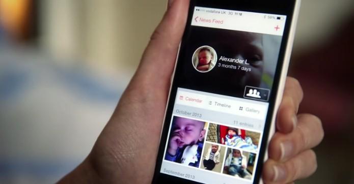 23snaps é uma rede social voltada para pais (Foto: Reprodução/Google Play Store)