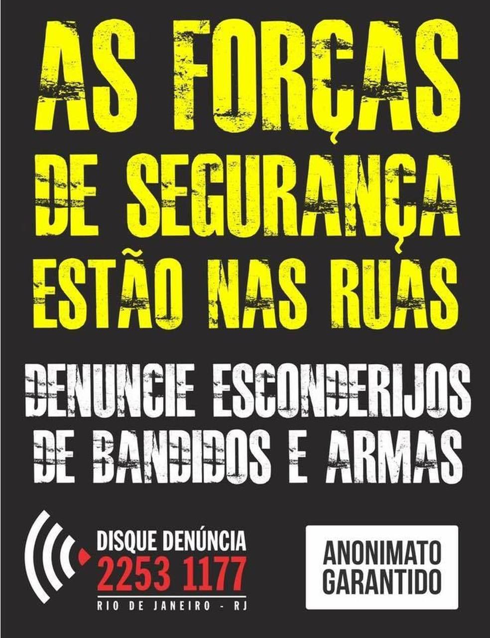 Cartaz pede informações para ajudar os policiais a encontrarem criminosos do Morro dos Macacos, na ZOna Norte do Rio. (Foto: Reprodução/ Portal dos Procurados)
