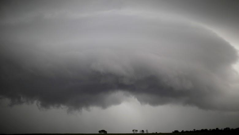 Ameaça de chuva em lavoura de soja em Tocantínia (TO) 19/02/2018 (Foto: Ueslei Marcelino/Reuters)