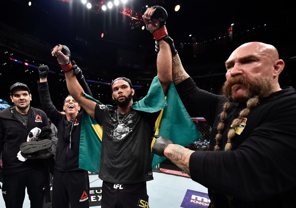 Thiago Marreta quer lutar no UFC 230, dia 3 de novembro (Foto: Getty Images)