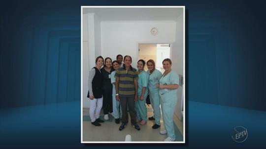 Paciente que recebeu o primeiro transplante de coração do Sul de MG tem alta em Itajubá