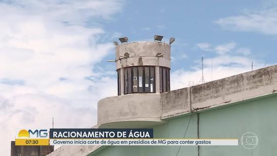 Governo de Minas Gerais adota racionamento de água em presídios a partir deste domingo