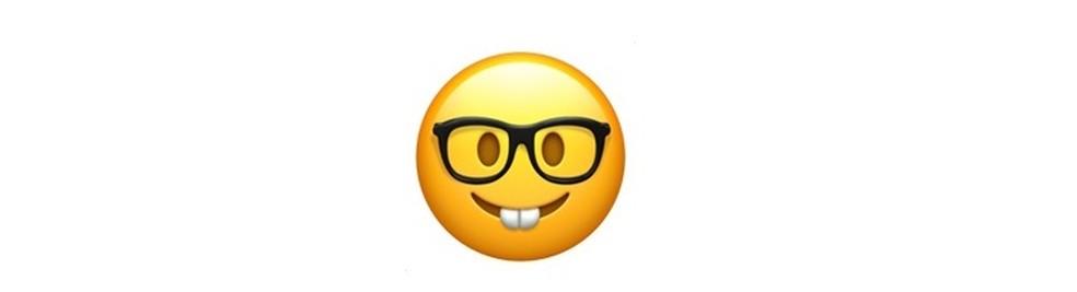 Emoji para nerds ou para algumas ironias — Foto: Reprodução/TechTudo