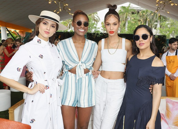 Eiza Gonzalez, Issa Rae, Joan Smalls e Tessa Thompson (Foto: Foto: Getty Images for Veuve Clicquot)