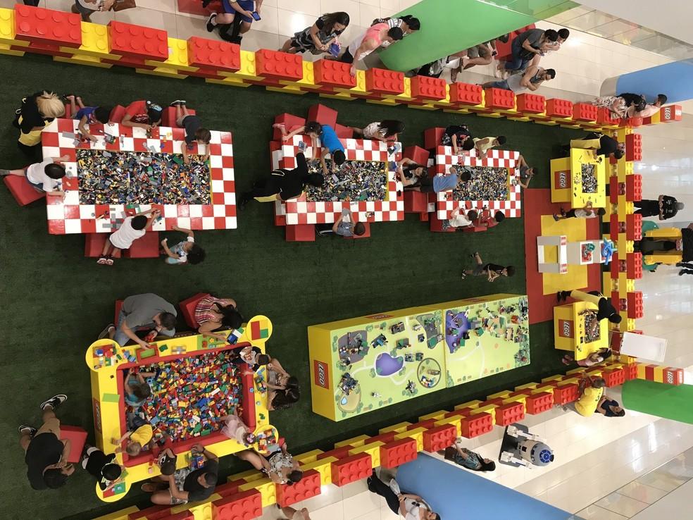 Casa Lego no Distrito Federal. — Foto: Divulgação/Casa Lego