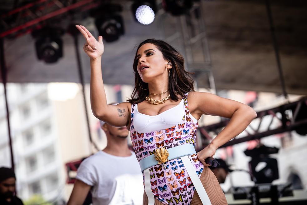 Anitta vai se apresentar em Arcoverde — Foto: Fábio Tito/G1