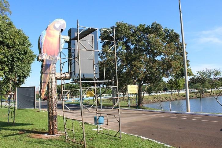 Fechado há mais de um mês por conta do coronavírus, Parque do Sabiá passa por reformas em Uberlândia