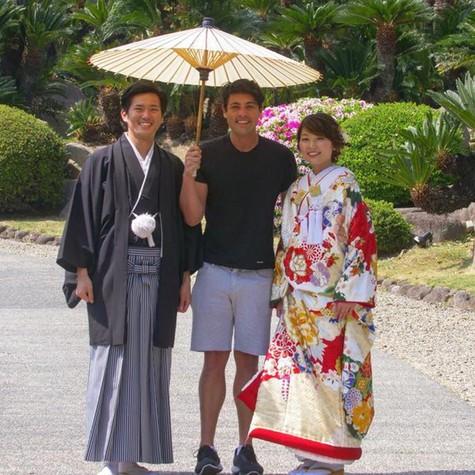 Bruno De Luca grava 'Vai pra onde' no Japão (Foto: Arquivo pessoal)