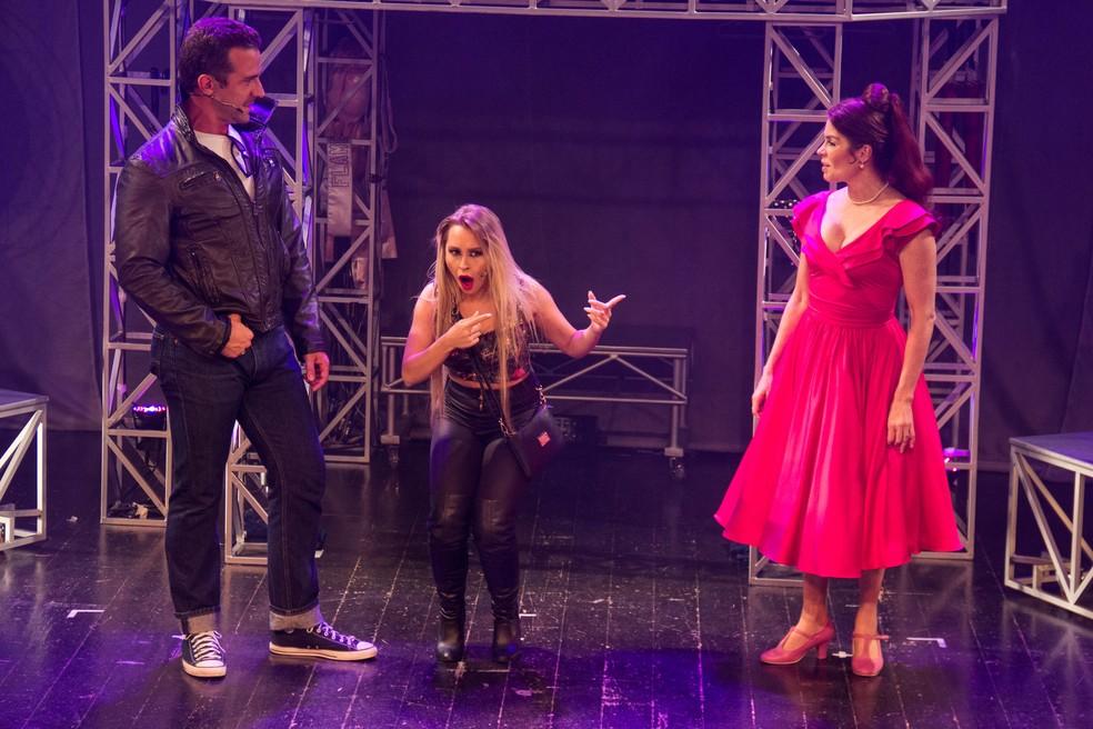 Após 15 meses de temporada, o espetáculo 'Estúpido Cupido' retorna à cena teatral carioca (Foto: Luiz Souza)