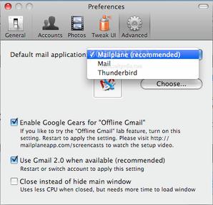 Opțiuni pentru planul poștal