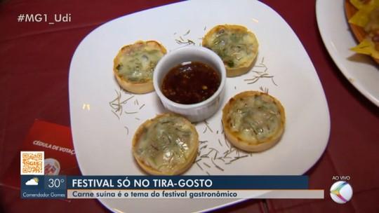 Festival 'Só no Tira-Gosto' apresenta sabores da carne suína em Patos de Minas
