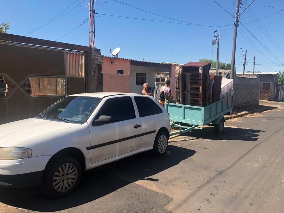Suspeito foi preso na manhã deste sábado (28) em Tupã e, segundo a polícia, se preparava para fugir  — Foto: Tupãense Notícias/Divulgação