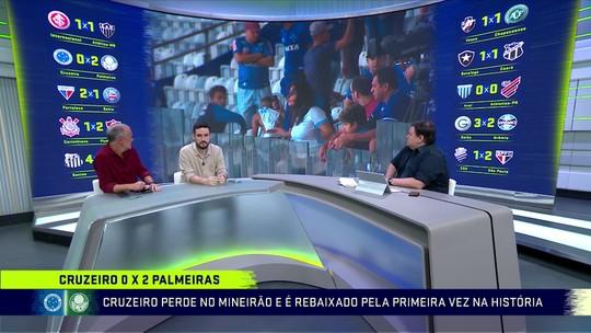 """Troca de Passes analisa queda do Cruzeiro: """"Rebaixado mais improvável da história"""""""