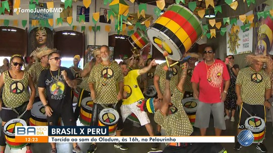 Copa América 2019: Olodum se prepara para animar a torcida brasileira neste sábado (22)