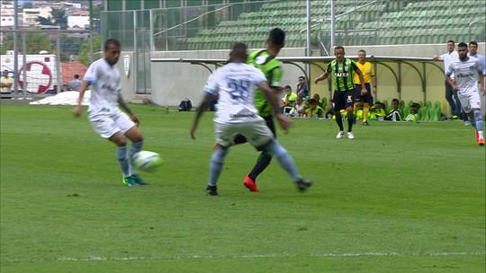 Melhores momentos de América-MG 1x1 Grêmio pela 30ª rodada do Campeonato Brasileiro