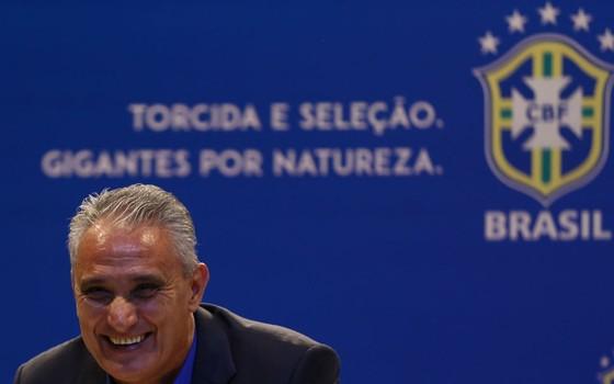Tite convoca os 23 jogadores que representarão a seleção brasileira na Copa do Mundo da Rússia (Foto: Getty Images)