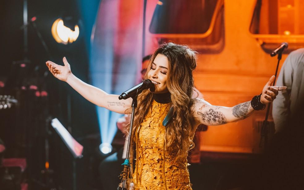 A cantora e compositora Lauana Prado apresenta em Cascavel seus principais hits, entre eles 'Cobaia' — Foto: Divulgação/ Assessoria de imprensa Lauana Prado