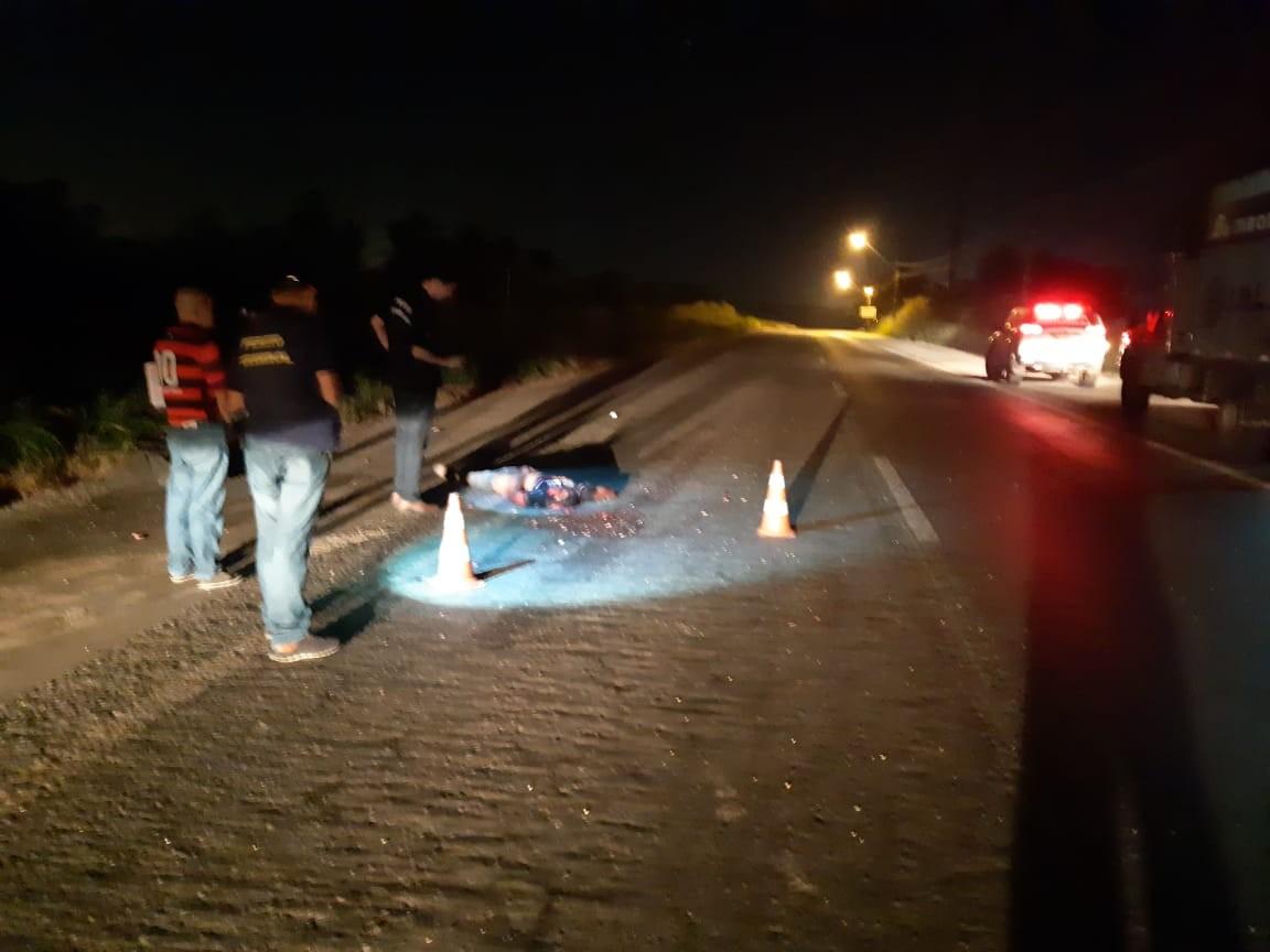 Pedestre morre atropelado e tem cabeça esmagada na BR-135 no MA - Notícias - Plantão Diário