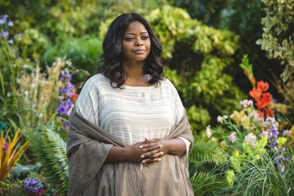 """Em """"A Cabana"""", Octavia Spencer vive Papai, uma personificação de Deus — Foto: Divulgação"""