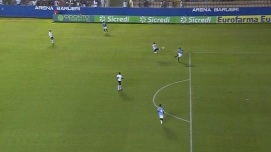 Corinthians sai na frente com gol mais bizarro de toda a Copinha
