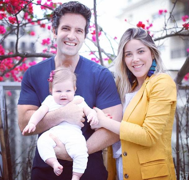 Mica Rocha, Renato Mimica e Luísa (Foto: Instagram/Reprodução)