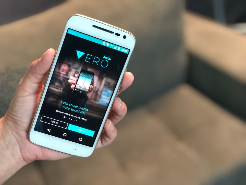 A rede social de foto Vero é rival do Instagram (Foto: Anna Kellen Bull/TechTudo)