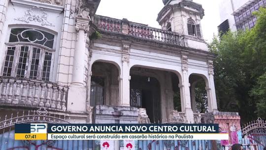Governo anuncia novo centro cultural na Av. Paulista