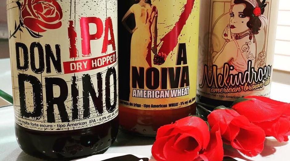 Cervejaria Mafiosa faz sucesso com produtos temáticos (Foto: Divulgação)