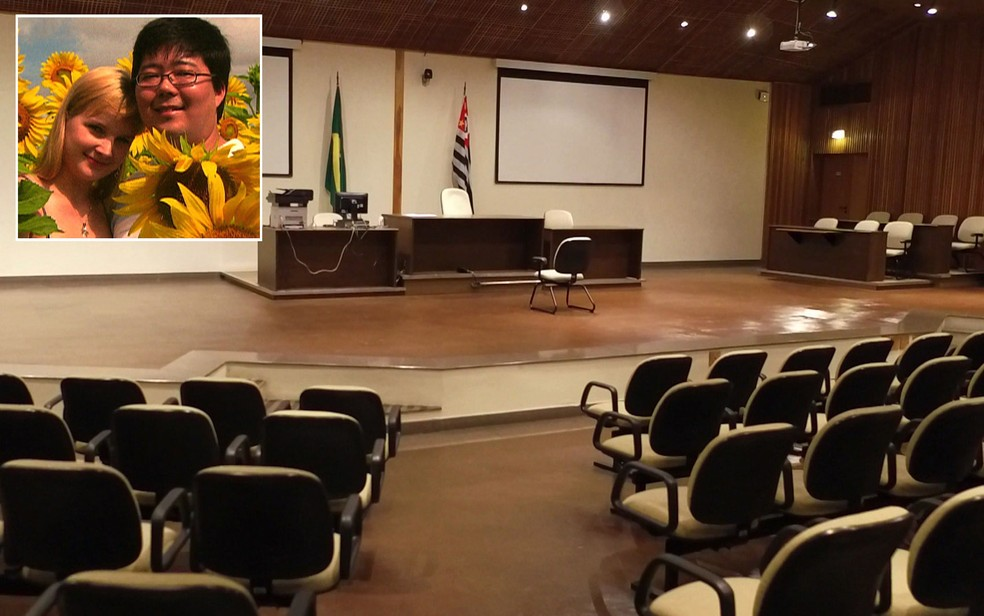 Julgamento de Elize Matsunada, acusada de matar e esquartejar o marido Marcos Kitano, começa nesta segunda-feira (28) no Fórum Criminal da Barra Funda, em São Paulo (Foto: TV Globo/Reprodução)