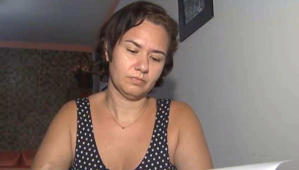 Professora vai ter que pagar por fora valor de anestesista — Foto: Reprodução/TV Bahia