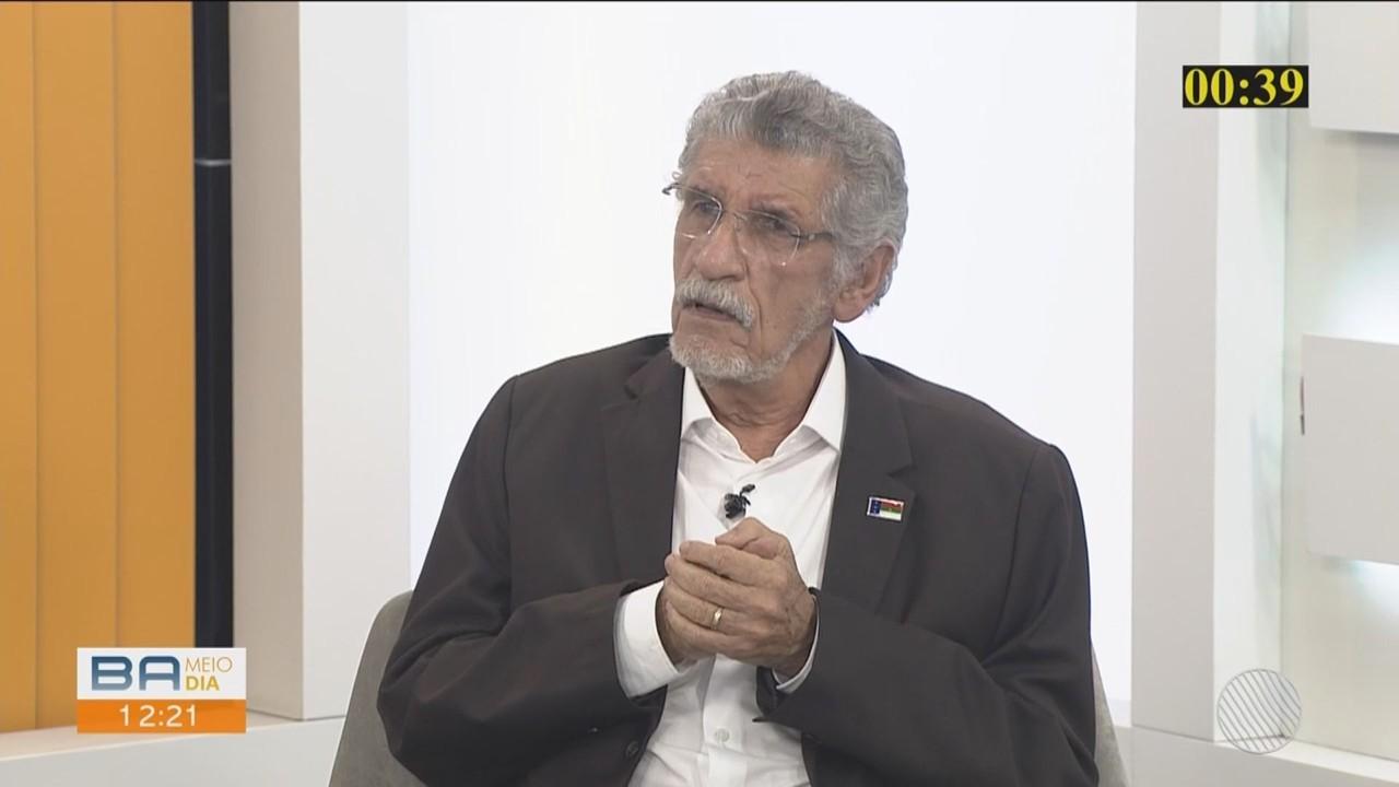Candidato Herzém Gusmão fala sobre campanha para a prefeitura de Vitória da Conquista