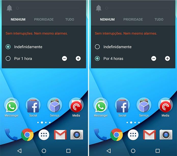 Eliminar as notificações também silenciam os alarmes programados pelo usuário (Foto: Reprodução)
