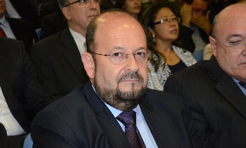 Justiça determinou afastamento do secretário Marcos Esner Musafir  (Foto: Frederick Borges/ Governo do Tocantins)