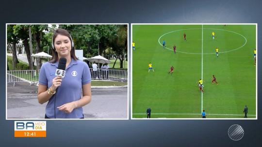 Jogos das seleções brasileiras de futebol provocam alterações na rotina da capital baiana