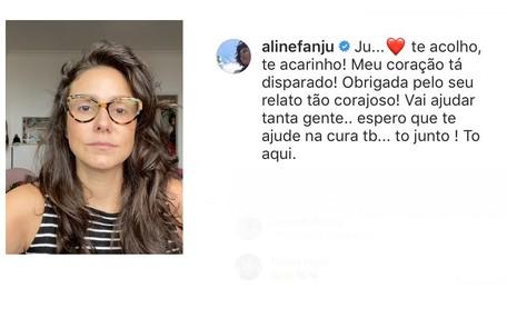Aline Fanju Reprodução