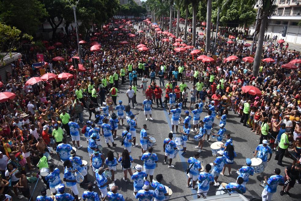 Bloco de Carnaval no Centro do Rio — Foto: Alexandre Macieira/Riotur