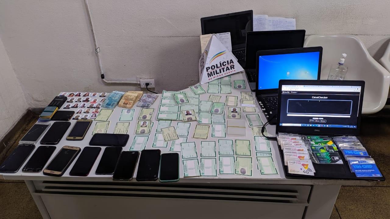 Homem é preso por estelionato após fazer compras usando cartão em nome de outra pessoa em Uberlândia