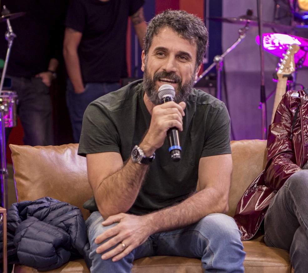 Eriberto Leão se transformou no 'Show dos Famosos' e agora vai cantar de 'cara limpa' no 'PopStar' — Foto: Artur Meninea / Gshow