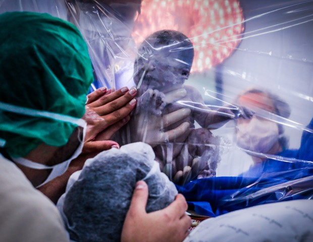 Maior contato com o bebê (Foto: Cláudia Cintra)