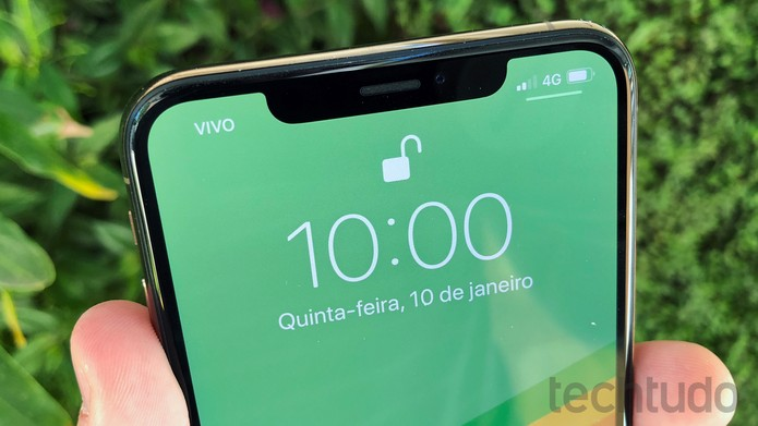 iPhone XS Max (Foto: Bruno De Blasi/TechTudo)